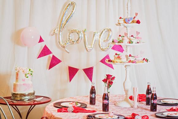 Valentine, Valentines Day, Styled, Tea Party