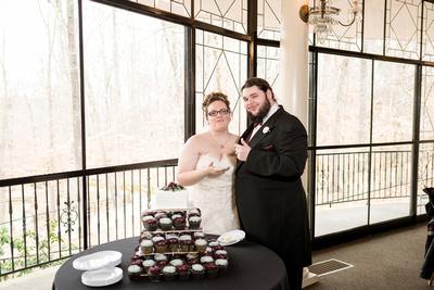 cake, castle, greensboro wedding